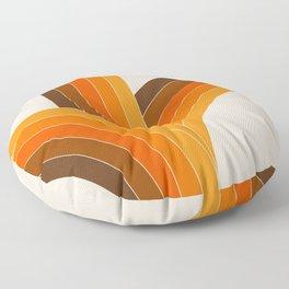 Bounce - Golden Floor Pillow