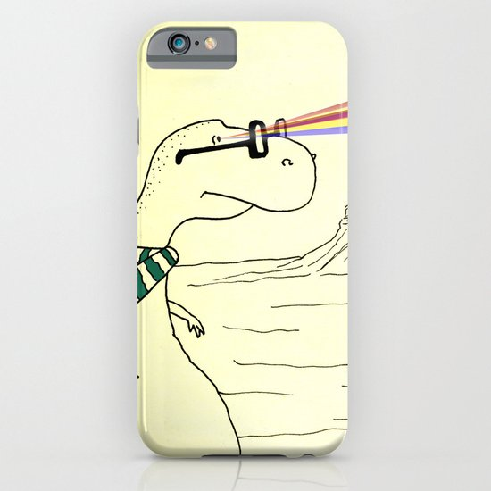 Hipster Laser Dinosaur iPhone & iPod Case