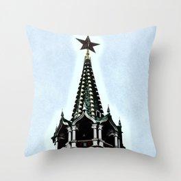 Kremlin Chimes-dramatic Throw Pillow