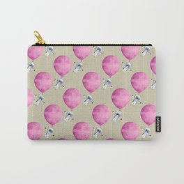 Penguin fly with Balloon Carry-All Pouch