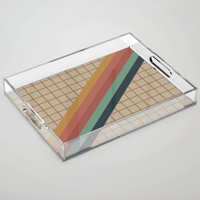 Old Video Cassette Palette Acrylic Tray
