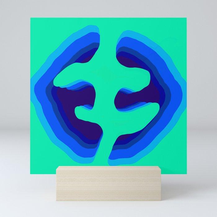Mirrored Mini Art Print