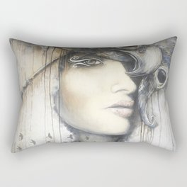 Waiting in the Wings Rectangular Pillow