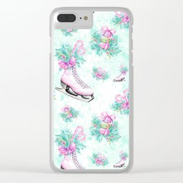 Figure Skating #9 Clear iPhone Case