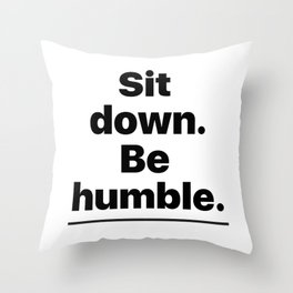 Humble Throw Pillow