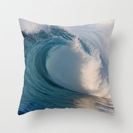 Wedge Waves 2012 Throw Pillow