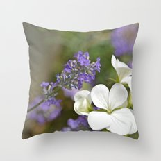 Scented Summer Throw Pillow