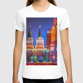 Iberian Or Resurrection Gate To Red Square T-shirt
