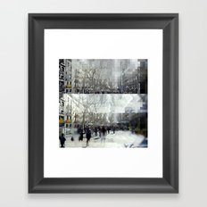 when anywhere leaks knosis Framed Art Print