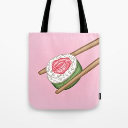 Pussy Sushi Tote Bag
