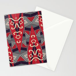 Pinilian - an Indigenous Filipino tapestry Stationery Cards
