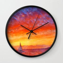 Sailors Delight Wall Clock