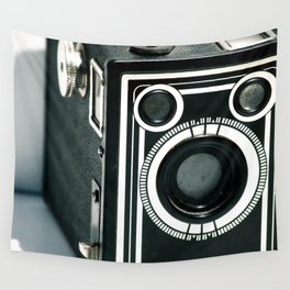 Vintage 1940's Sears S-20 Box Camera Photography  Wall Tapestry