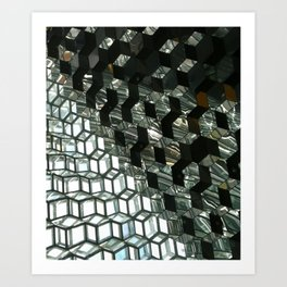 Harpa,  concert hall and conference centre Art Print