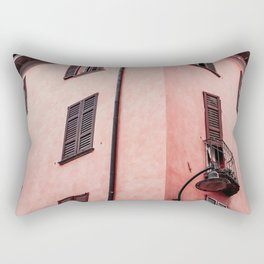 Live In Pink Rectangular Pillow