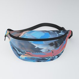 The edge of blue mystery Fanny Pack