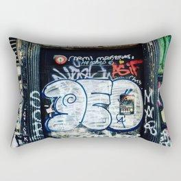 Graffiti NYC Rectangular Pillow