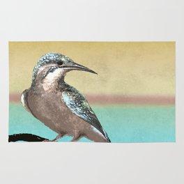 A Kingfisher Dawn Rug