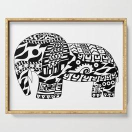 Mr elephant ecopop Serving Tray
