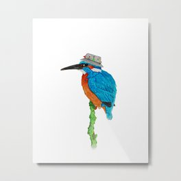 The Kingfisher Metal Print