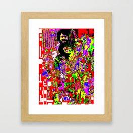 The Revenge of Elvis Dean! Framed Art Print