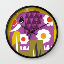 NELLY THE ELLY Wall Clock
