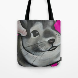 Bella the Chinchilla Tote Bag
