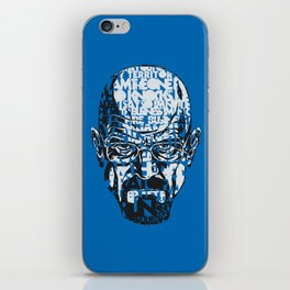 Heisenberg Quotes iPhone Skin