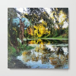 Fall into the Swamp Metal Print