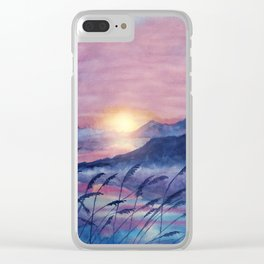 Wish You Were Here  01 Clear iPhone Case