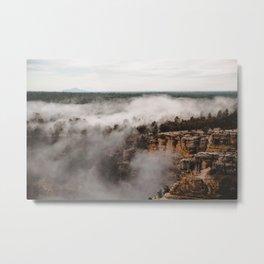 Fog Takeover Metal Print