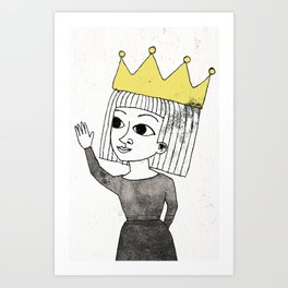 Little Princess Art Print