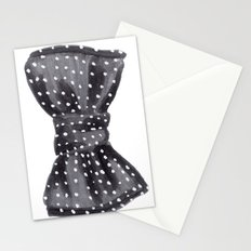 Dotted Bow Stationery Cards