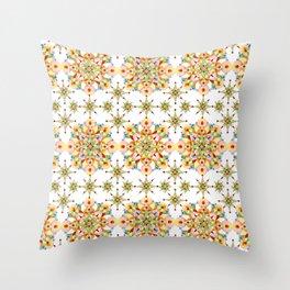 Sparkly Carousel Confetti Throw Pillow