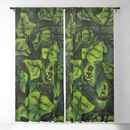 Fairies in Ivy Blackout Curtain