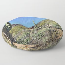 Superstition Mountains Floor Pillow