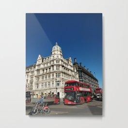 Central London Metal Print