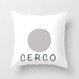melacerco Throw Pillow