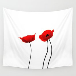 Simply poppies Wall Tapestry