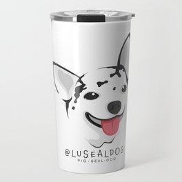 Lu-Seal The Pig-Seal-Dog Travel Mug