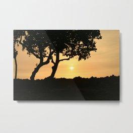 Kona Sunset Metal Print