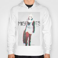 misfits Hoodies featuring Misfits by SAH.