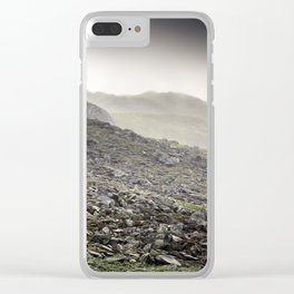 Welsh Hills of Snowdonia Clear iPhone Case