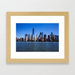 What I can I say about Manhattan Framed Art Print