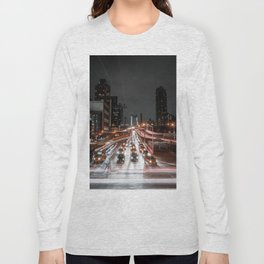 Taxi Trails Long Sleeve T-shirt