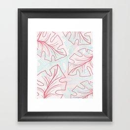 A N N A LEAVES Framed Art Print