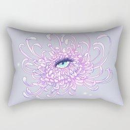 Whimsical Chrysanthemum, Weronika Salach Rectangular Pillow