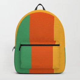 Sunshine Boardwalk Stripes #Lines #Minimalism Backpack