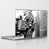 gothic Laptop & iPad Skins featuring Gothic by Kim Ramage