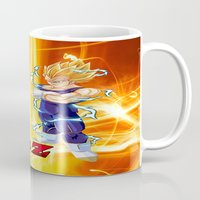 dragonball z Mugs featuring Vegeta Dragonball Z best idea by customgift